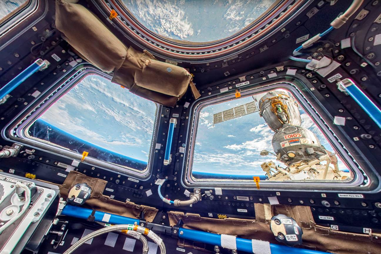 Visit the International Space Station with Google Street View! (9 pics)