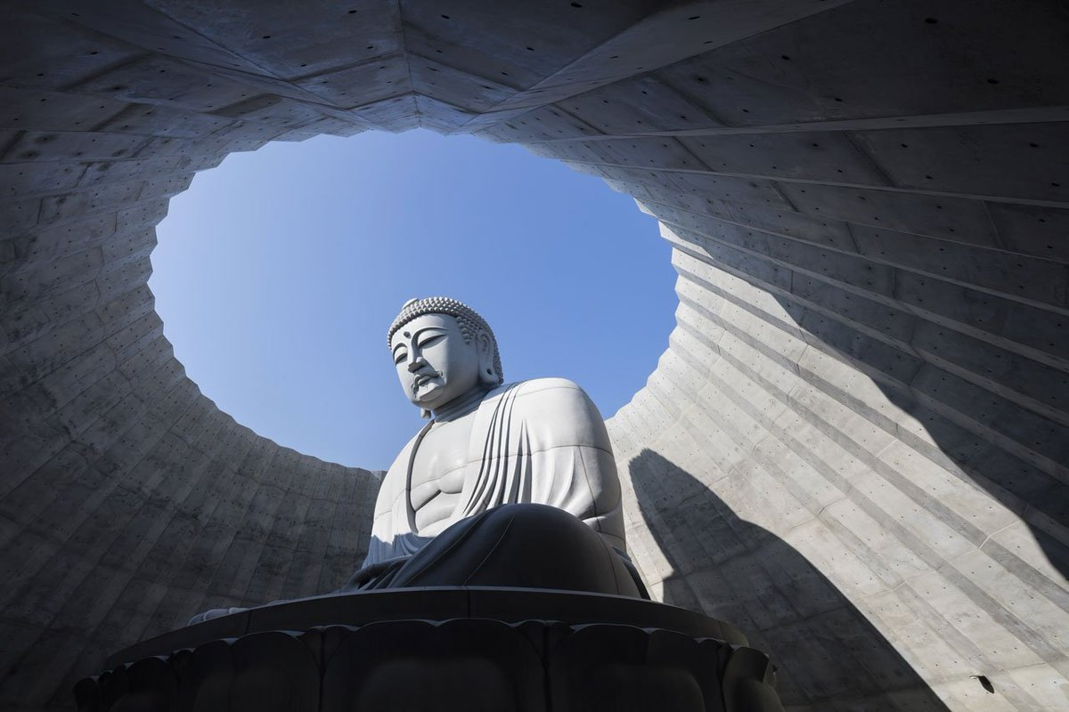 Hill of Buddha by Tadao Ando