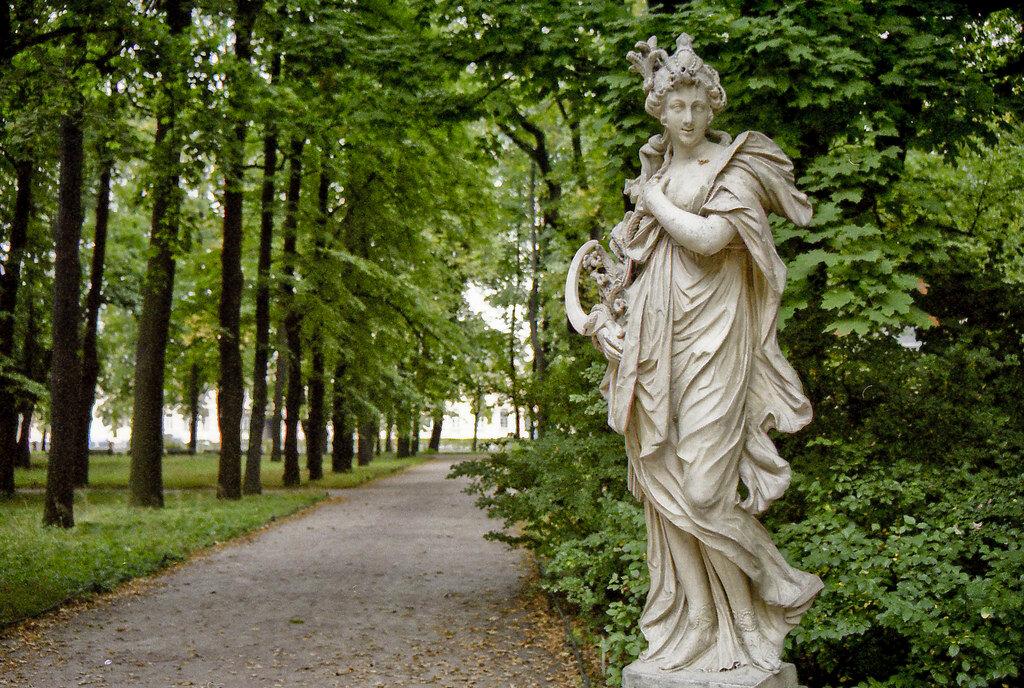 Летний сад Петербург. Россия