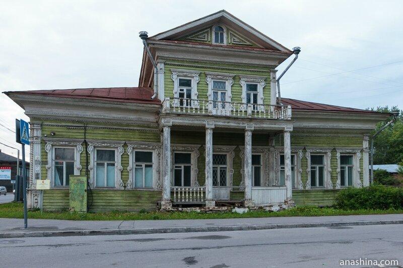 Дом Засецких, Вологда