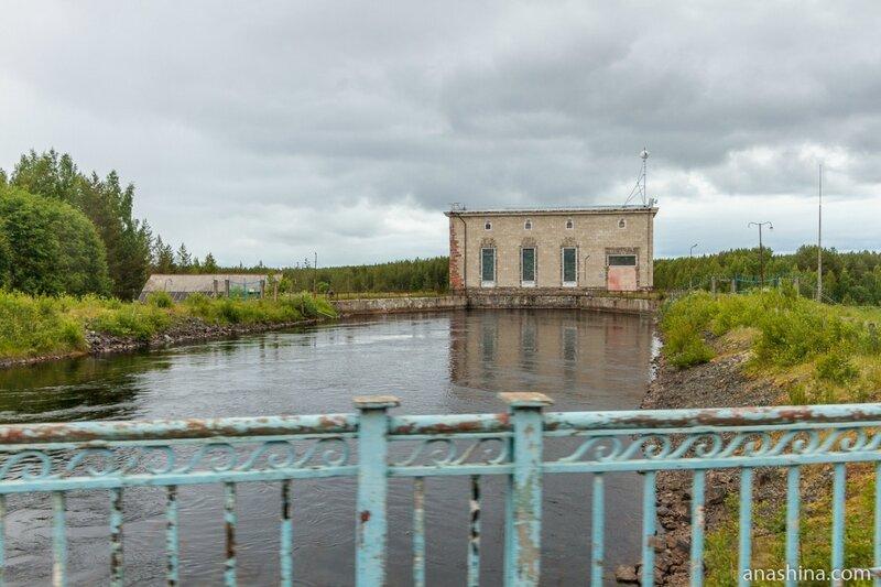 Пальеозерская ГЭС, Карелия