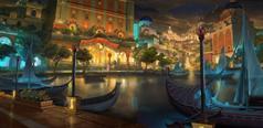 Гостиничные и развлекательные города и уезды