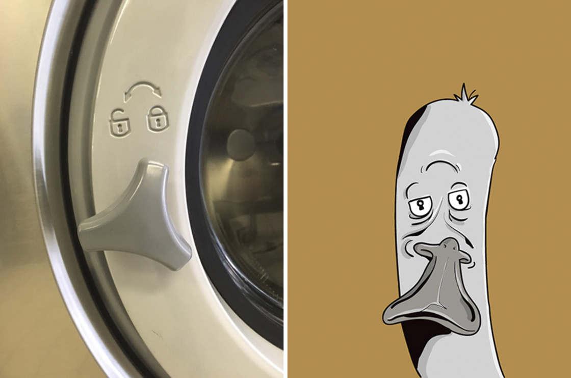 Il dessine les visages qu'il voit dans les objets du quotidien (9 pics)