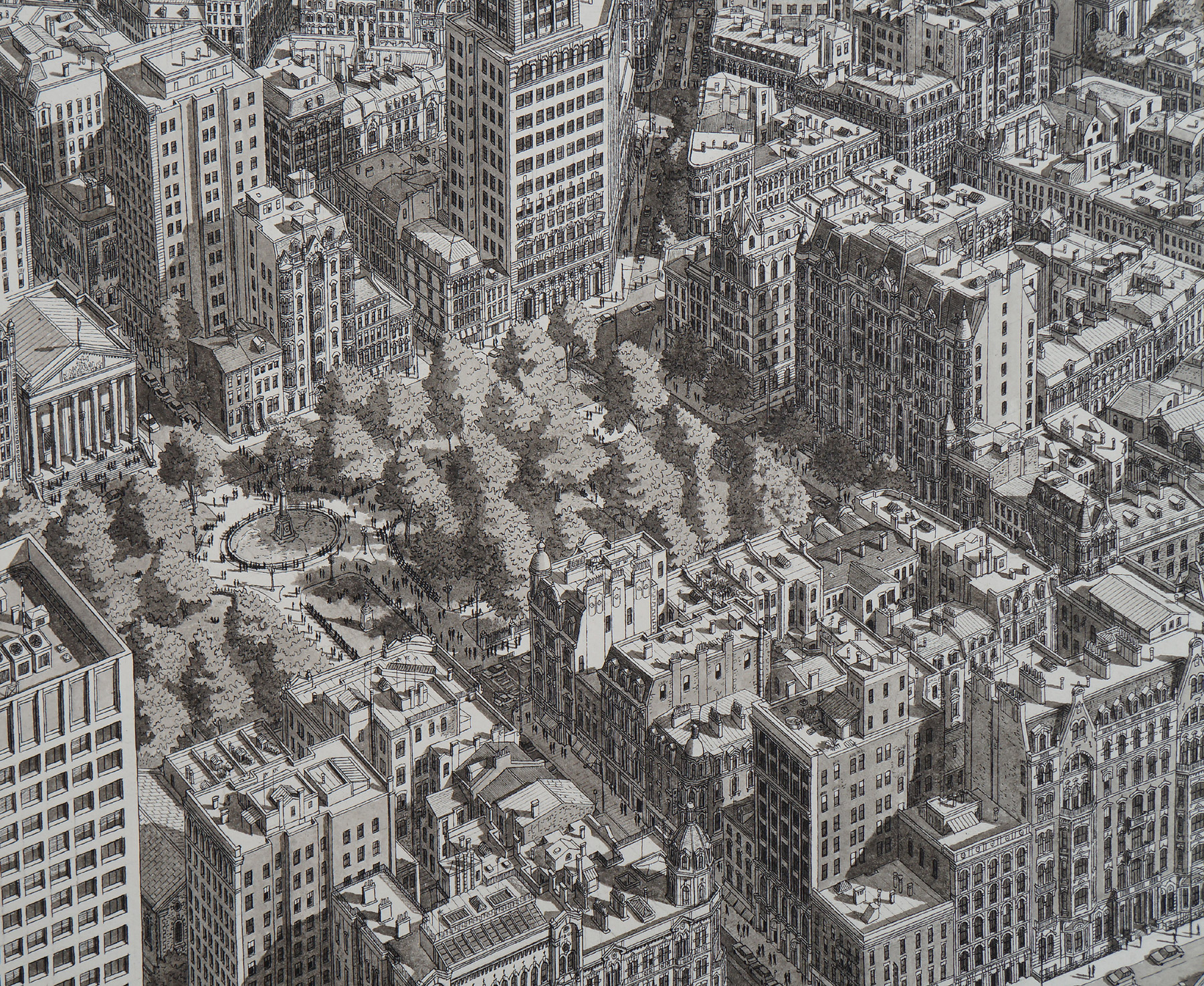 Incredibly Detailed Cityscape Artworks by Stefan Bleekrode