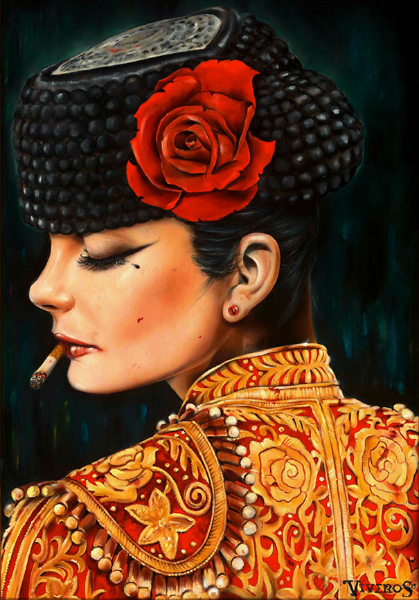 Hyper-Real Paintings by Brian M Viveros (20 pics)