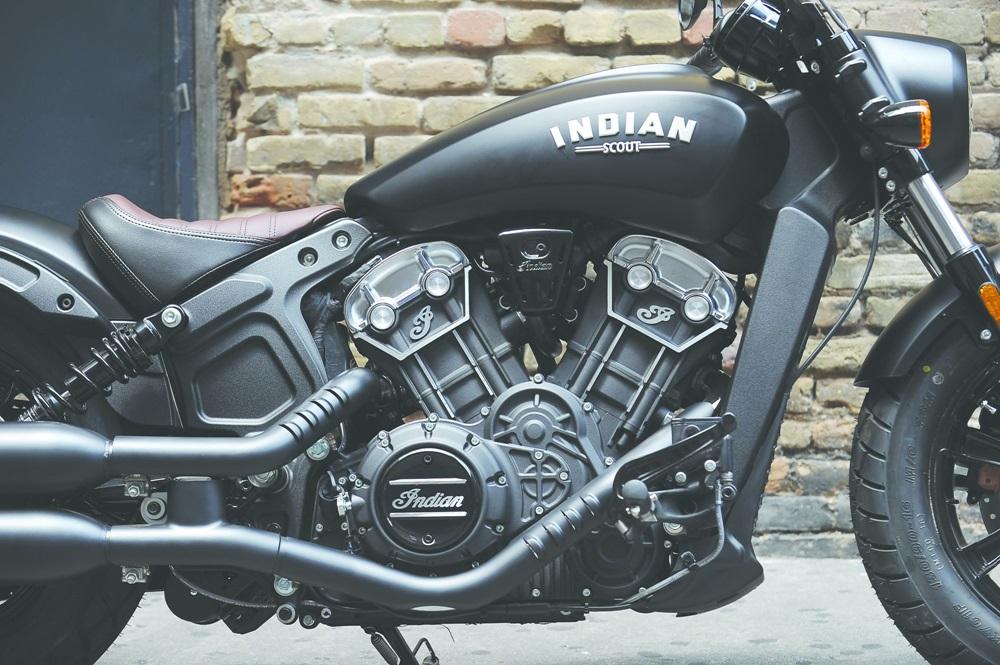 Новый мотоцикл Indian Scout Bobber 2018