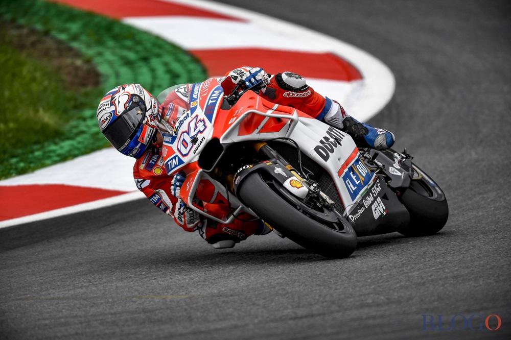 Фотографии Гран При Австрии 2017. Андреа Довициозо и Валентино Росси