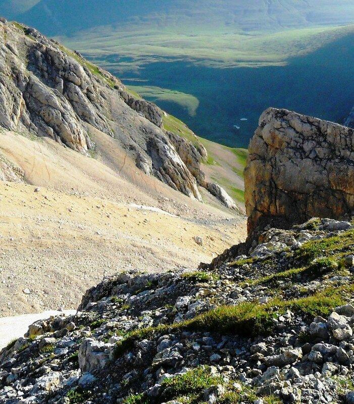 В походе на Оштен, июль, в горах... (9).JPG