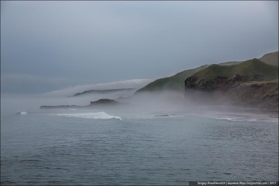 Черные дюны и Белые скалы Итурупа
