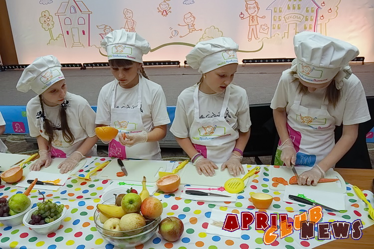 Кулинарный мастер-класс для взрослых и детей по программе «Разговор о правильном питании»