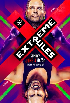 Post image of WWE Extreme Rules 2017