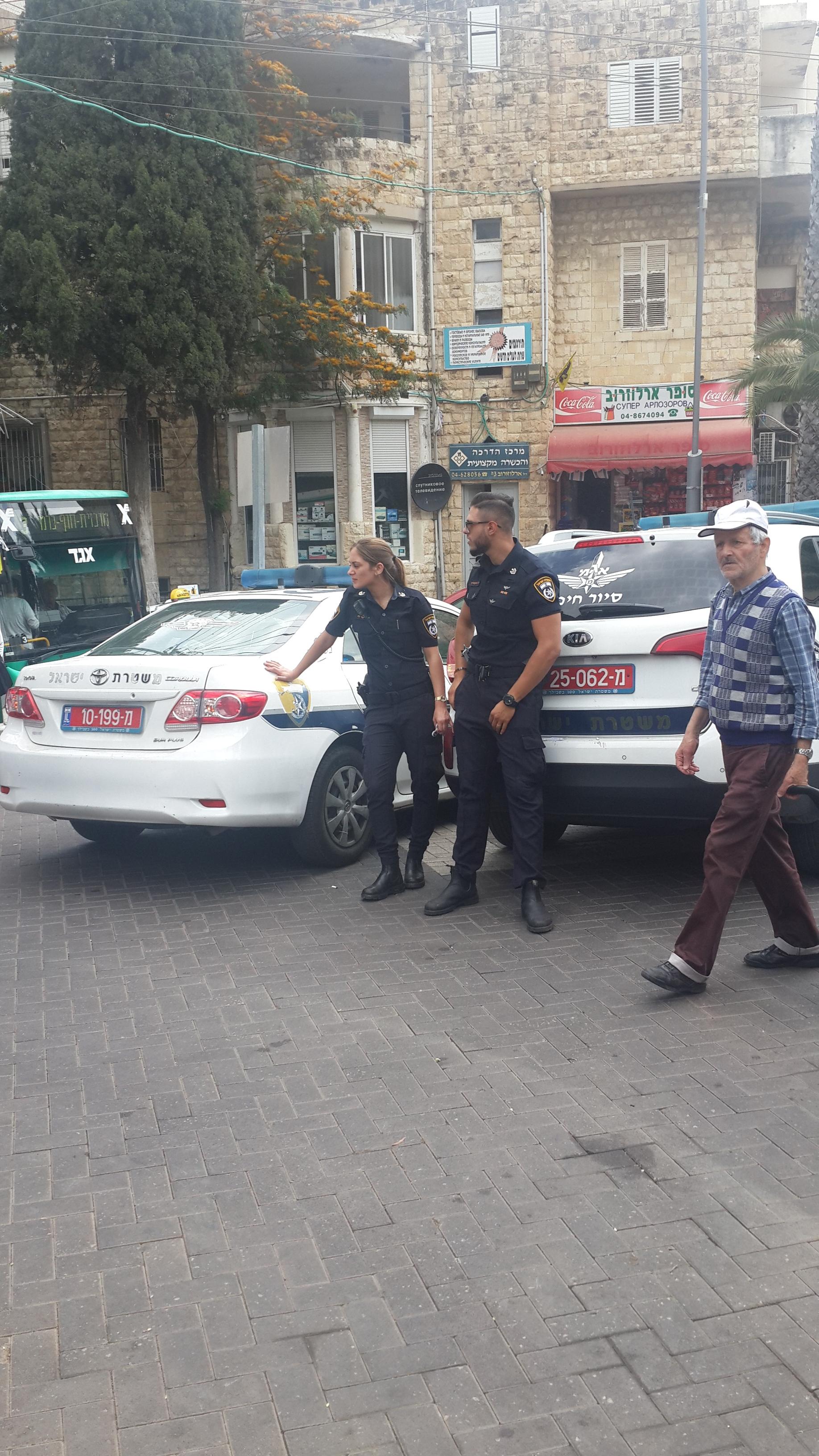 61. Полиция на выходе