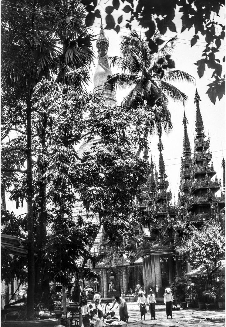 834. Рангун. Пагода Шведагон