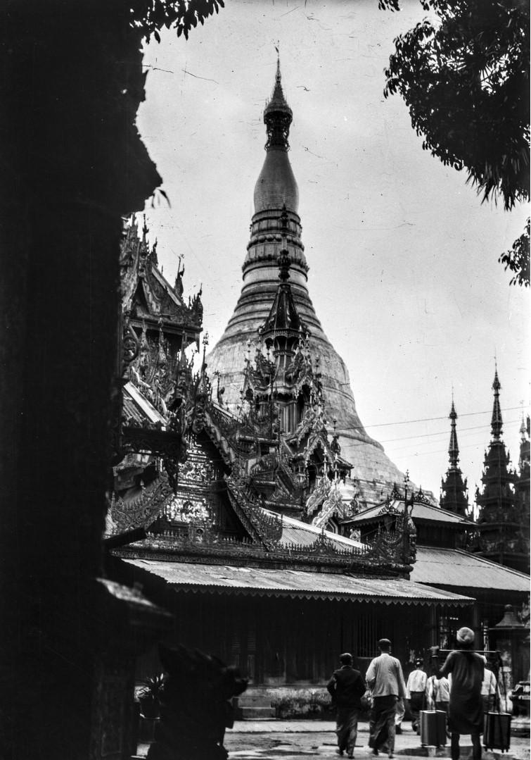 839. Рангун. Пагода Шведагон