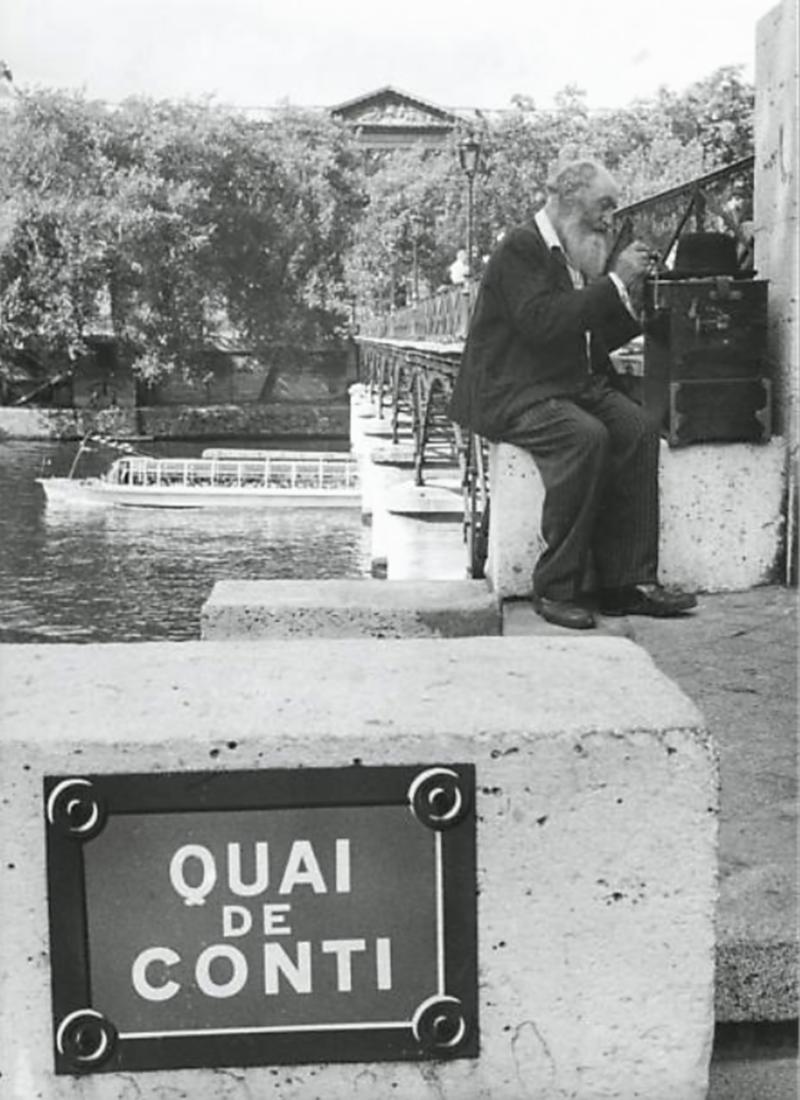 1960. Набережная Конти. Париж