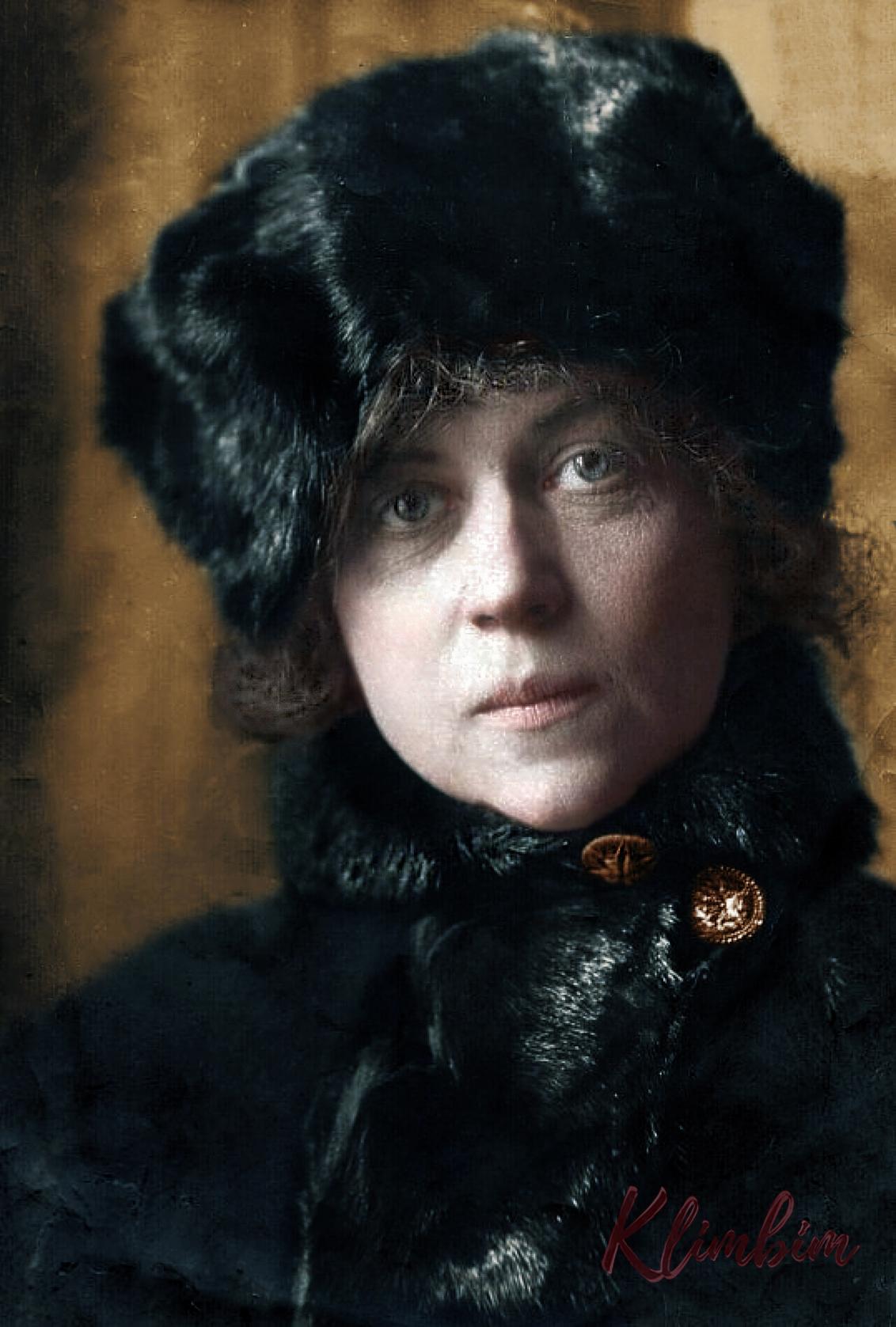 Коллонтай Александра Михайловна, заведующая женотделом ЦК РКП(б), Москва, сентябрь 1922