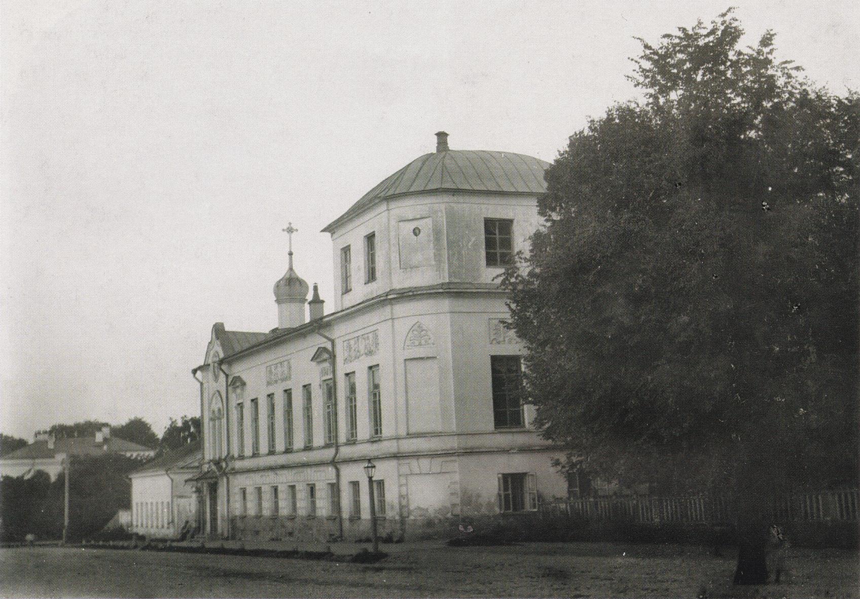 Владимирская улица. Здание пансионата 1-ой мужской гимназии