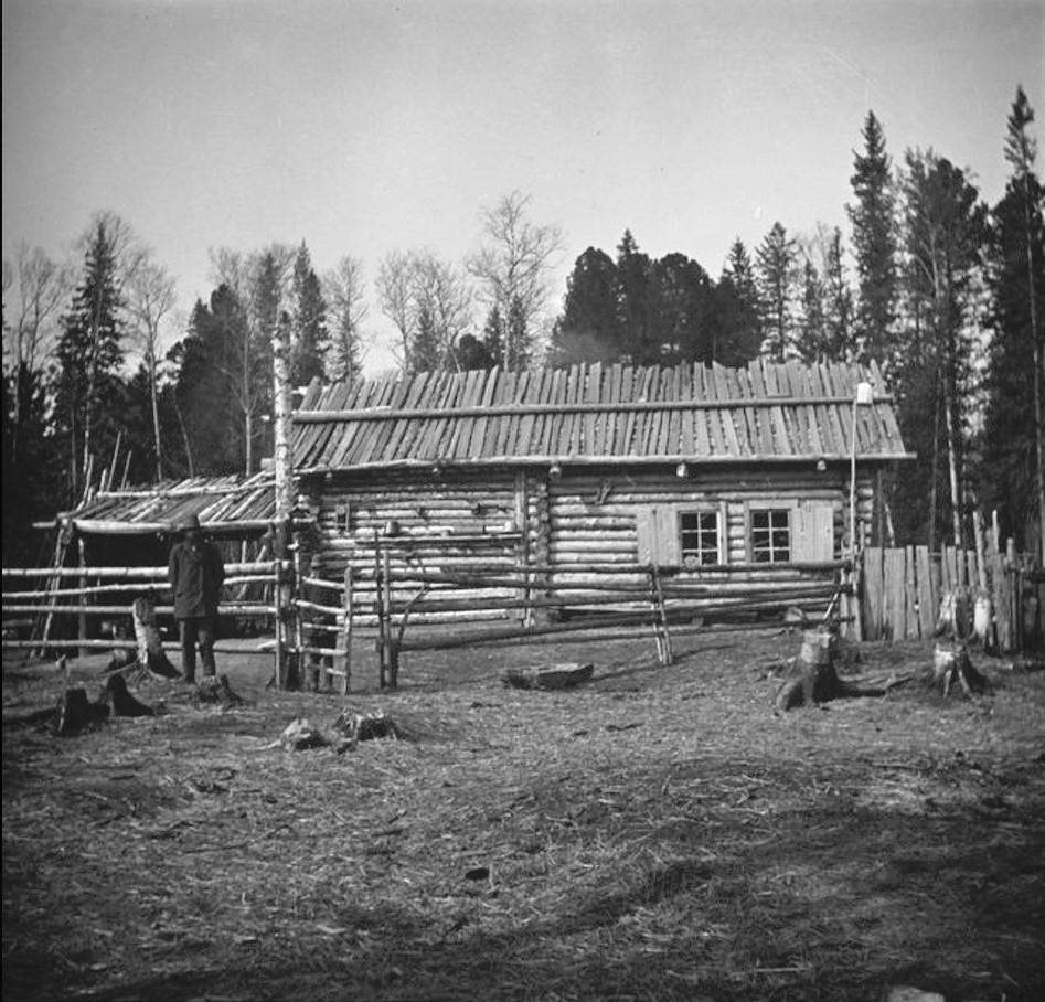 Дом русских сельчан