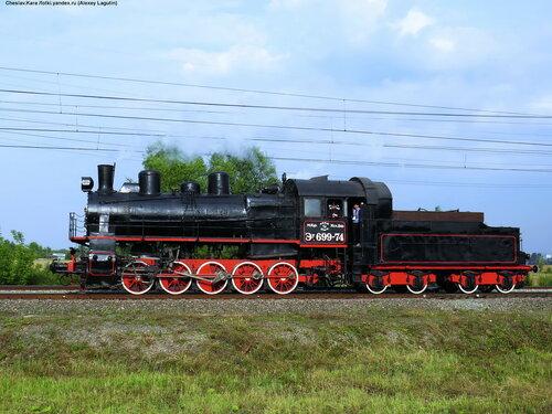 паровоз Эу-699-74 _250