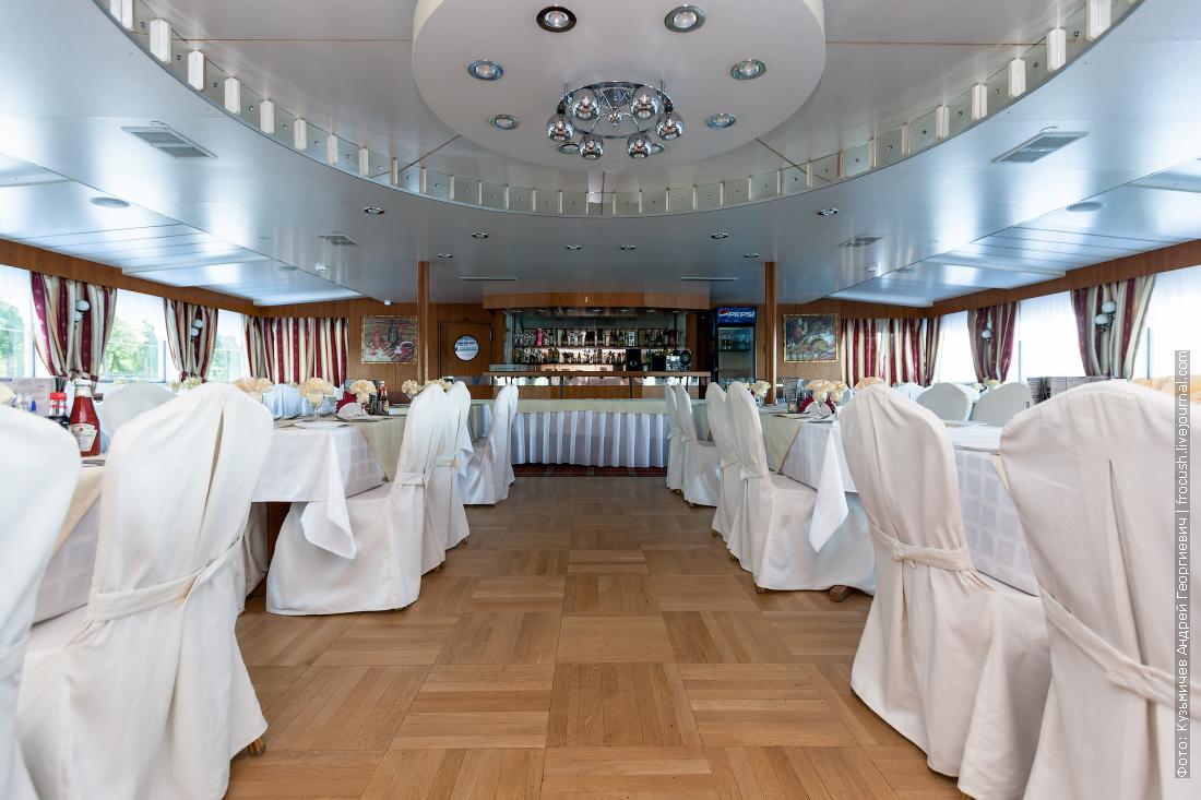 ресторан шлюпочная палуба теплоход карамзин описание