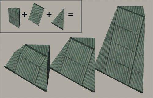 urban roof master mesh by PSYCHOSIM