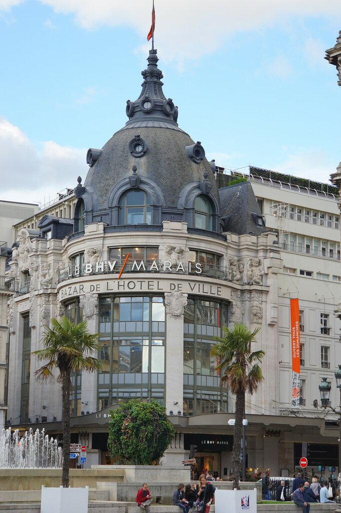Торговый центр квартала Маре