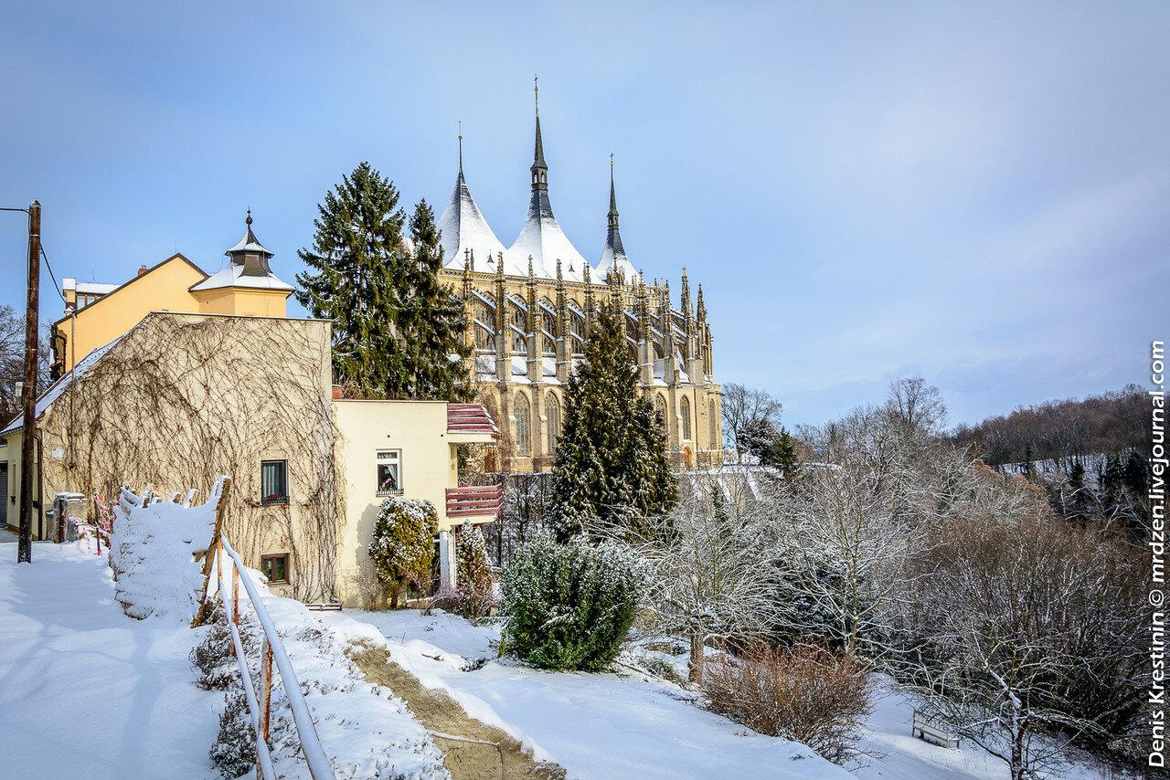 Кутна-Гора. Собор Святой Варвары