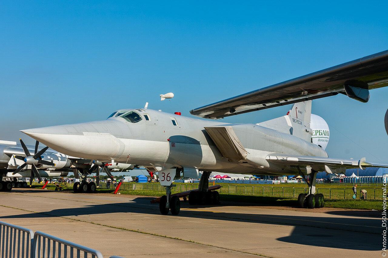 Ту-22М3 б/н 36 на МАКС-2017.
