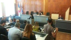 Demersul Preasfințitului Marchel la Consiliului municipal din Bălți