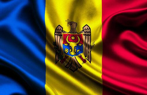 flag of Moldova. Молдавский флаг, флаг Республики Молдова - flag of Moldova