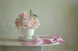 Нежность розовых роз
