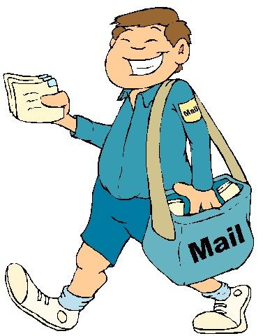 Открытки. С Днем Почты! Доставляется почта