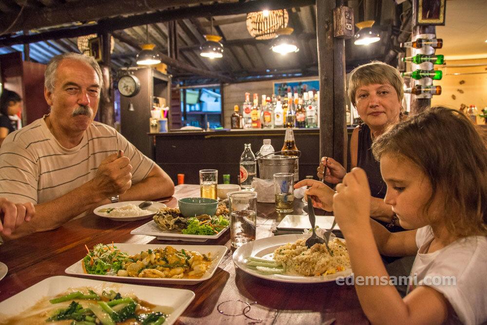 Ресторан морепродуктов Ко Чанг