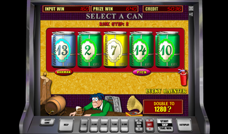 Lucky Haunter игровой автомат скачать