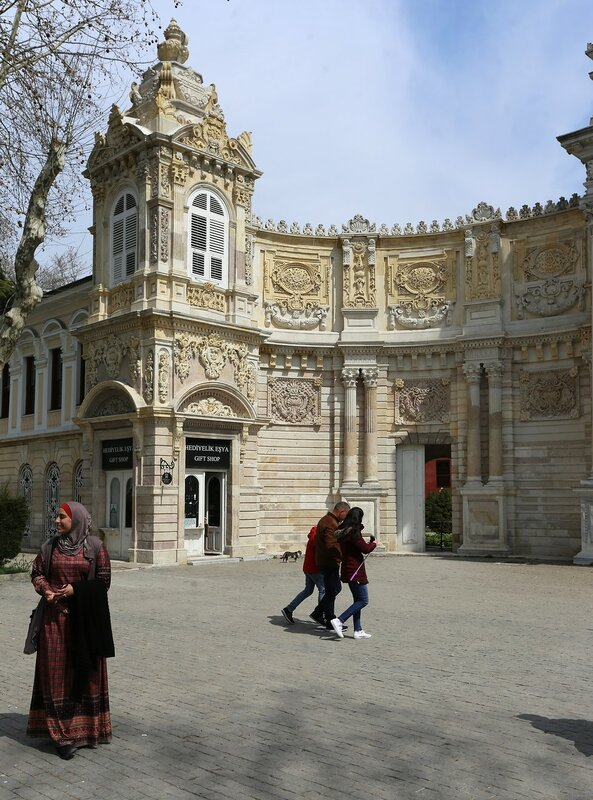 Istanbul, Dolmabahce Palace. The Gate Of The Treasure (Hasine Kapısı)