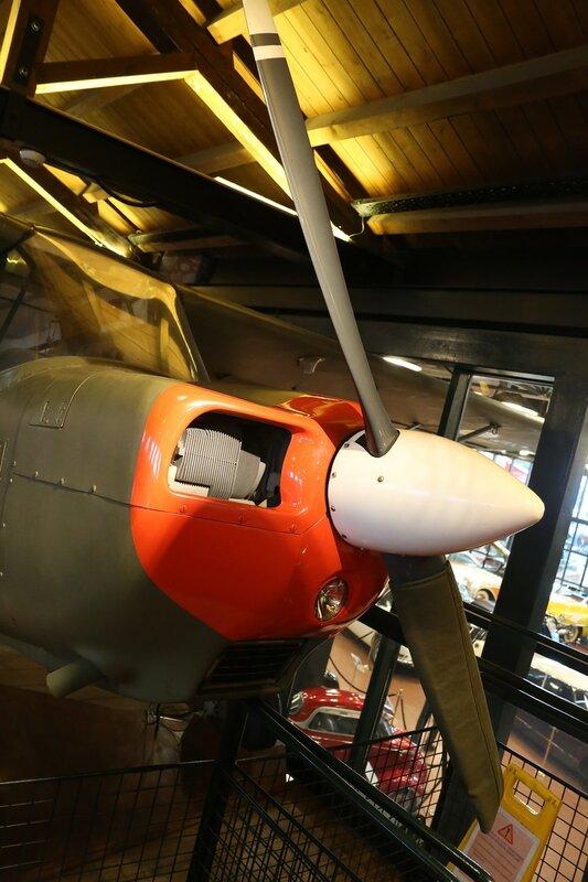 Стамбул. Музей Рахими Коча. Спортивно-тренировочный самолет Bellanca T7 GCBC Citabria