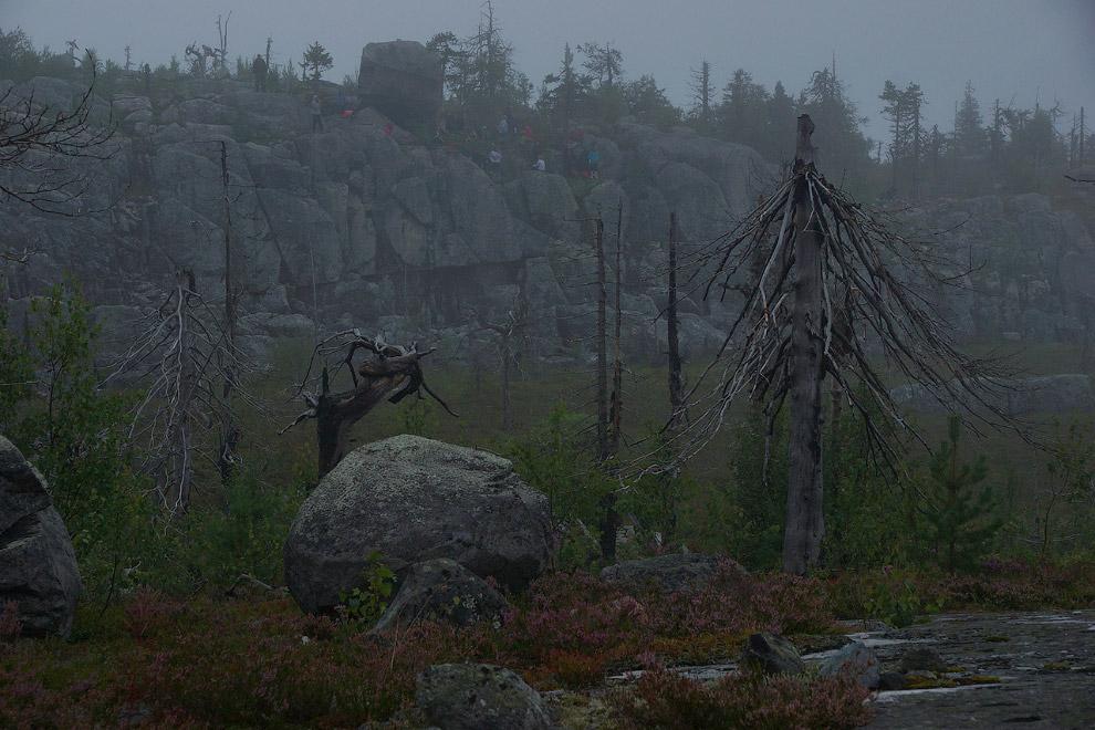 22. Гора Воттоваара в Карелии овеяна множеством легенд и слухов. Кто-то здесь видел НЛО, призра