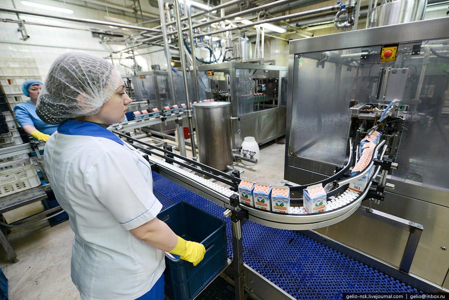 Предприятие выпускает более 80 % суточного объема производства молока и молочной продукции Барн