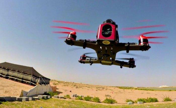 Дрон на дистанционном управлении разогнался до скорости суперкара. Большинство дронов, которые сегод