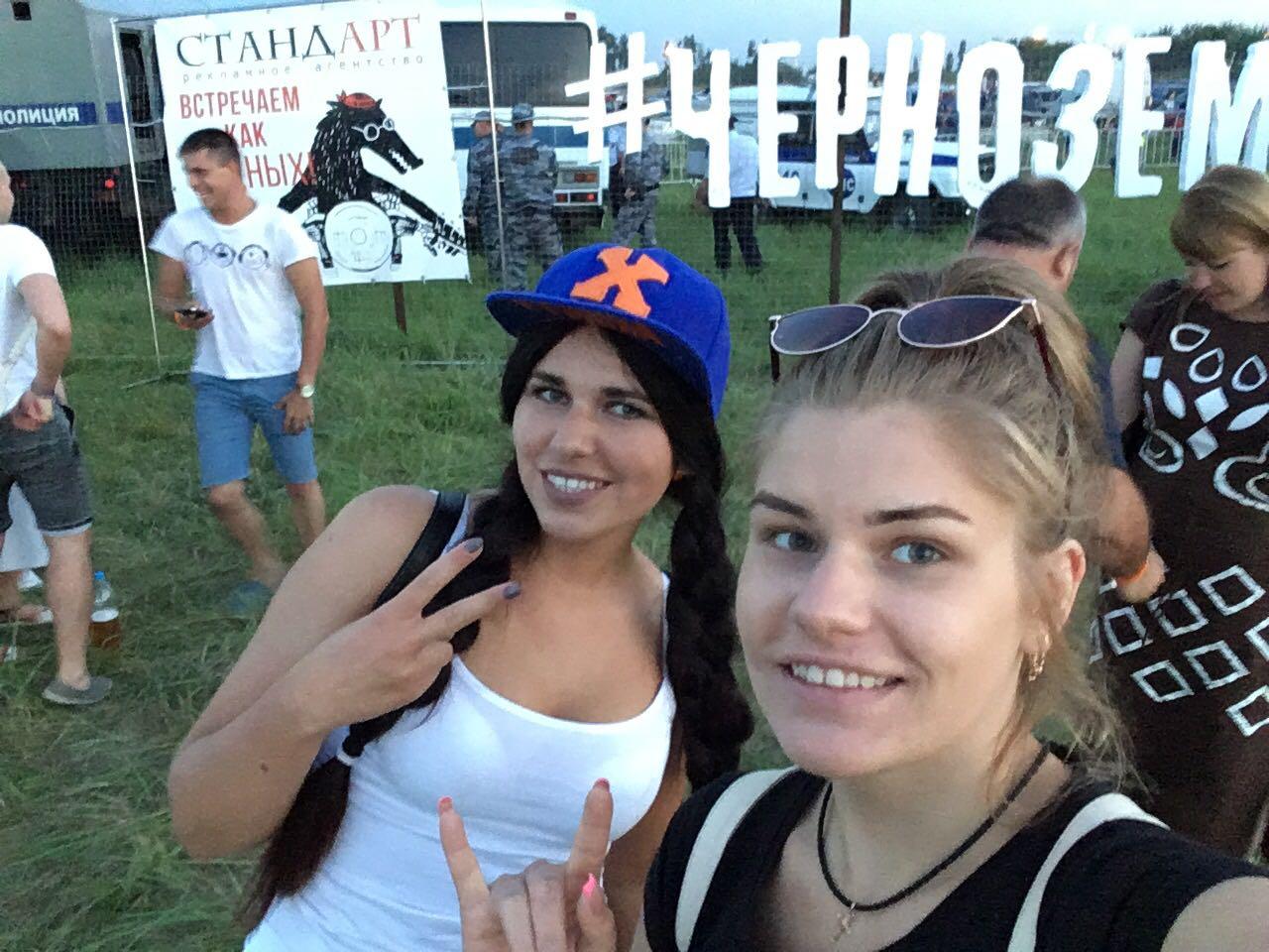 Фото девушек с рок-фестиваля ЧЕРНОЗЁМ — 2017