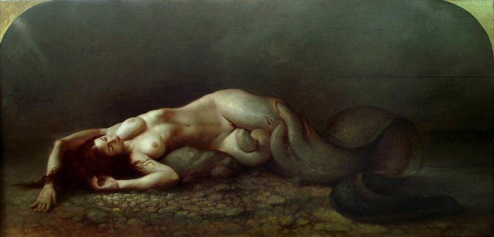Полотна итальянского художника Роберта Ферри - это глубокое размышление о грани любви, чувственности