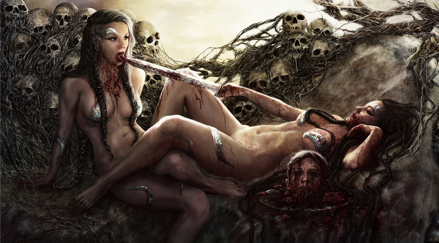 Убойные иллюстрации Дарьи Кузнецовой