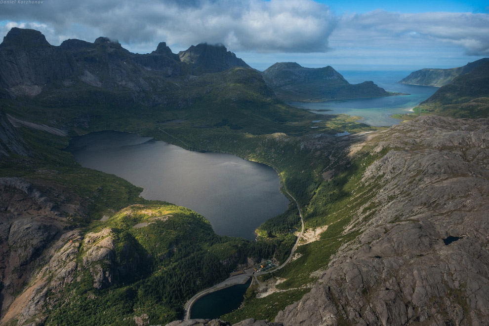 А это мой любимый Нусфьорд. Всегда сюда заезжаем: