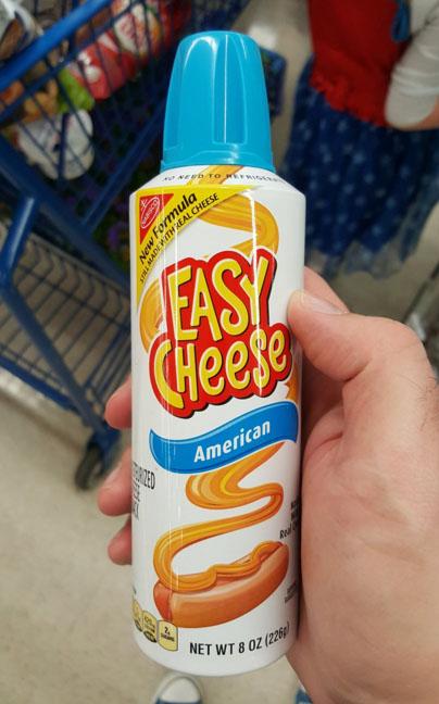 Сыр. «С добавлением настоящего сыра», — написано на упаковке. До чего техника дошла!
