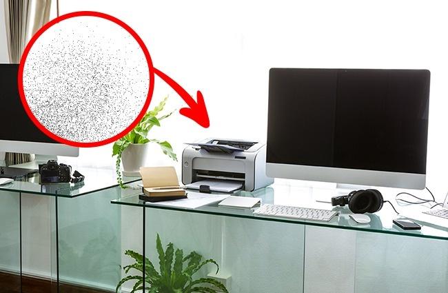 © depositphotos  Вчем опасность : Исследование показало , что лазерные принтеры выбрасывают в