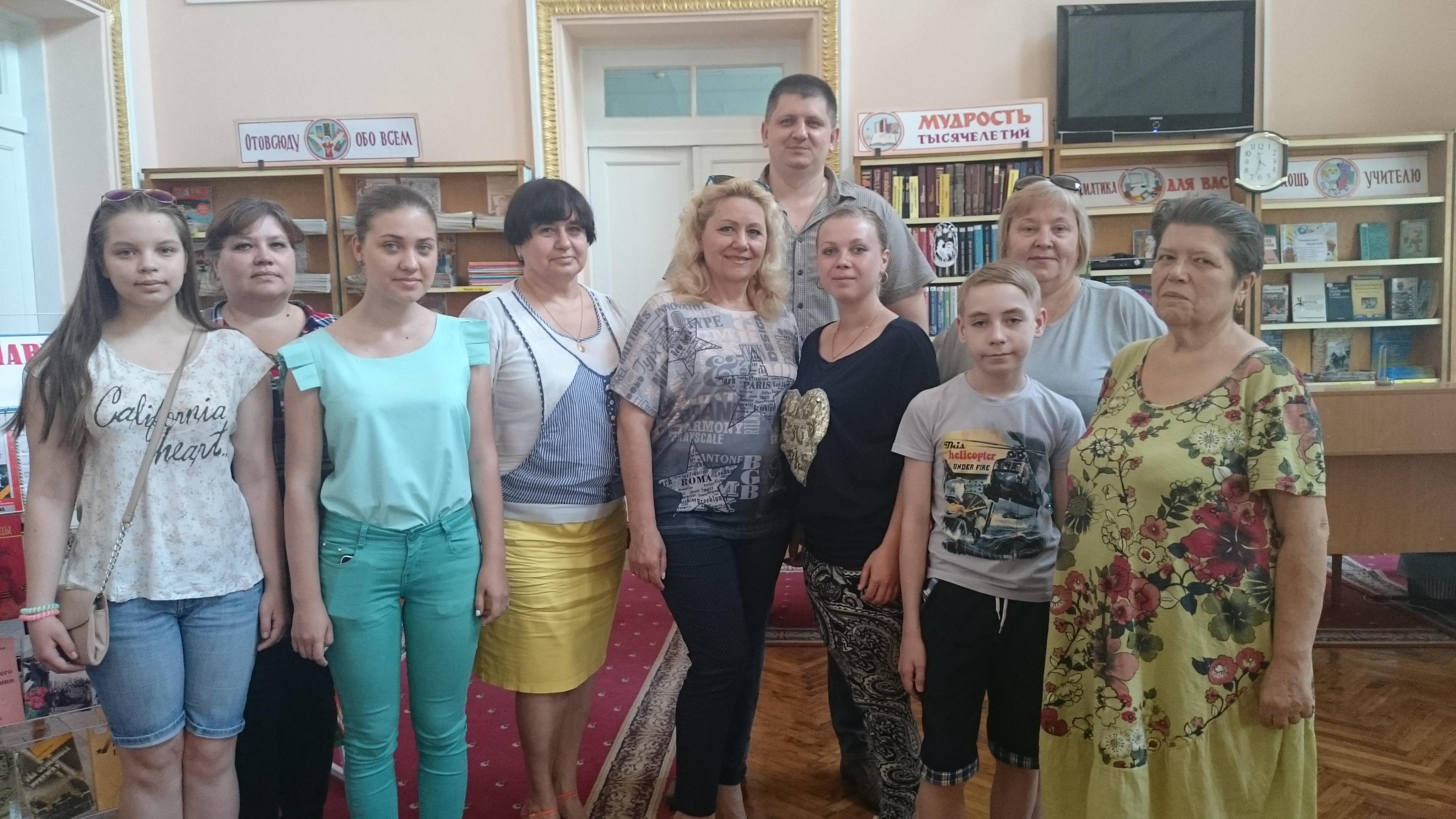 ирина горбань, мастер класс, донецкая республиканская библиотека для детей, писатели донбасса