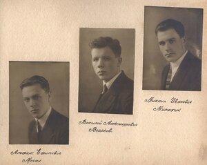 Альфонс Ефимович Мочан, Василий Александрович Возняков, Михаил Иванович Милюхин.