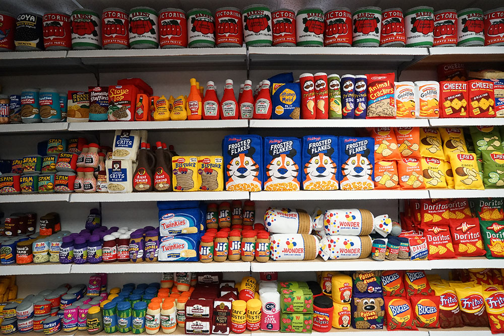 Artist Lucy Sparrow Opens an Entire Convenience Store of Handmade Felt Products in Manhattan