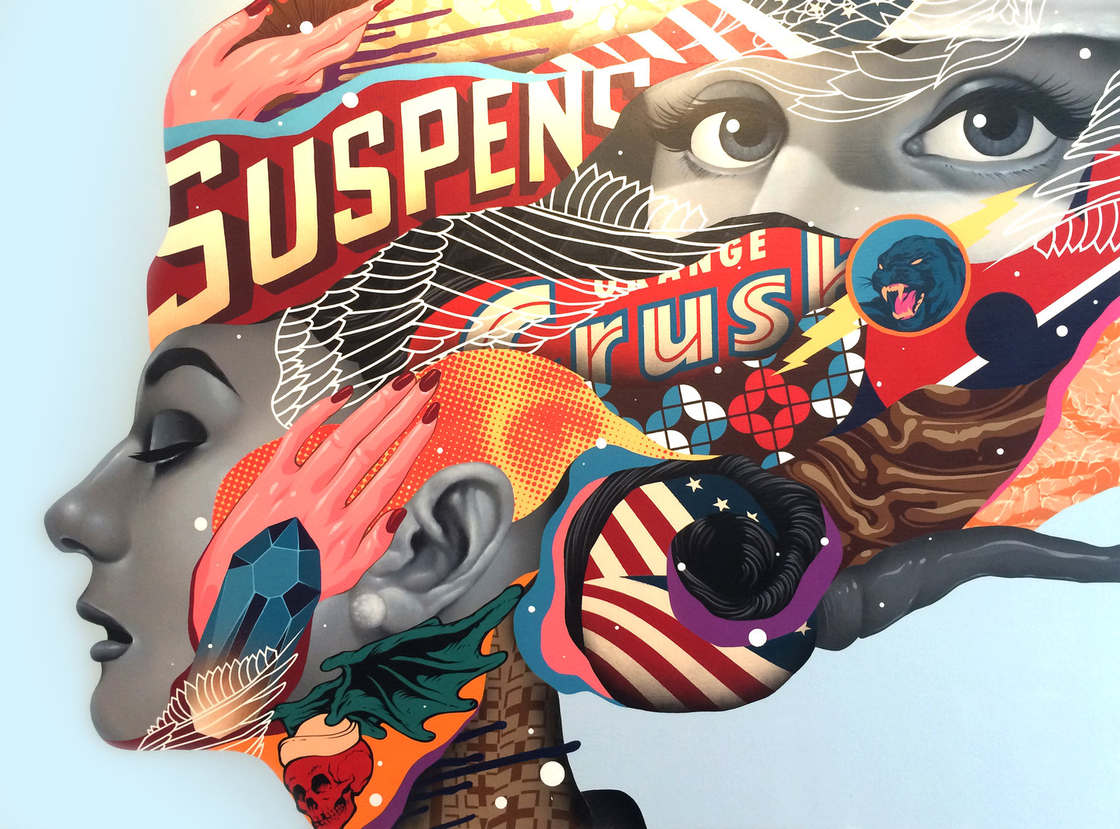 Street Art – The latest creations from Tristan Eaton (15 pics)