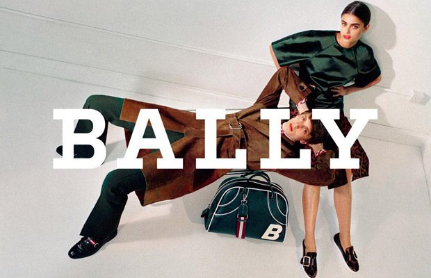 Top Model Taylor Hill is the Face of New BALLY Collection